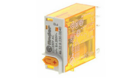 FINDER 12VDC DOUBLE POLE 8A RELAY