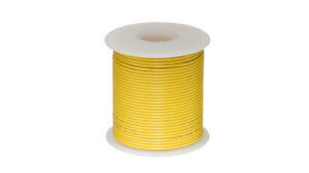 6.0MM RED / BLUE / WHITE / BLACK / YELLOW / GREY / ORANGE / PINK APPLIANCE WIRE - 100M ROLL