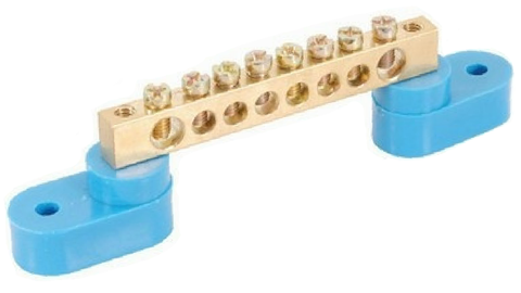 8WAY BUSBAR WITH STANDOFF