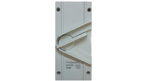 IP66 WEATHERPROOF ISOLATOR 1P 20A