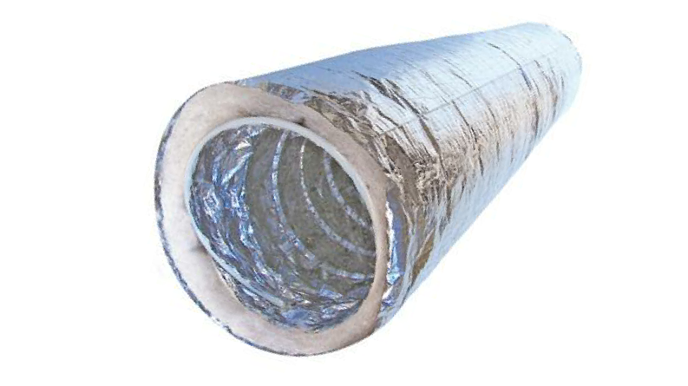 200MM INSULATED DUCTING 10M