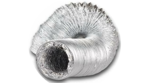 200MM NUDE DUCTING 6M