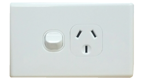 SINGLE HORIZONTAL OUTLET