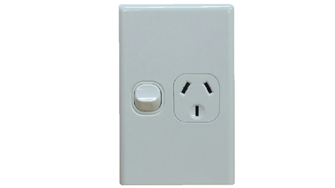 SINGLE VERTICAL OUTLET