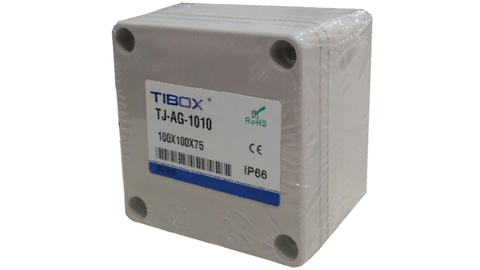 TIBOX IP66 ENCLOSURE 100X100X75
