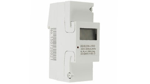 KWH METER DIN MOUNT 230V - 65A DIGITAL