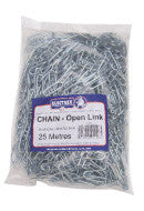 OPEN LINK CHAIN - 25M BAG