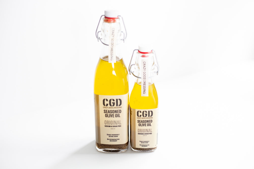 Crazy Good Dressing - Seasoned Olive Oil