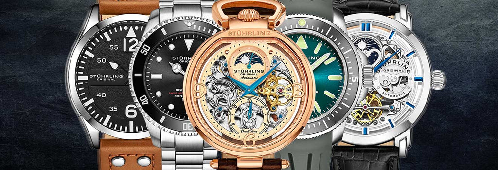 The Reviews Are In: Check Out Our Top-Rated Stührling Watches