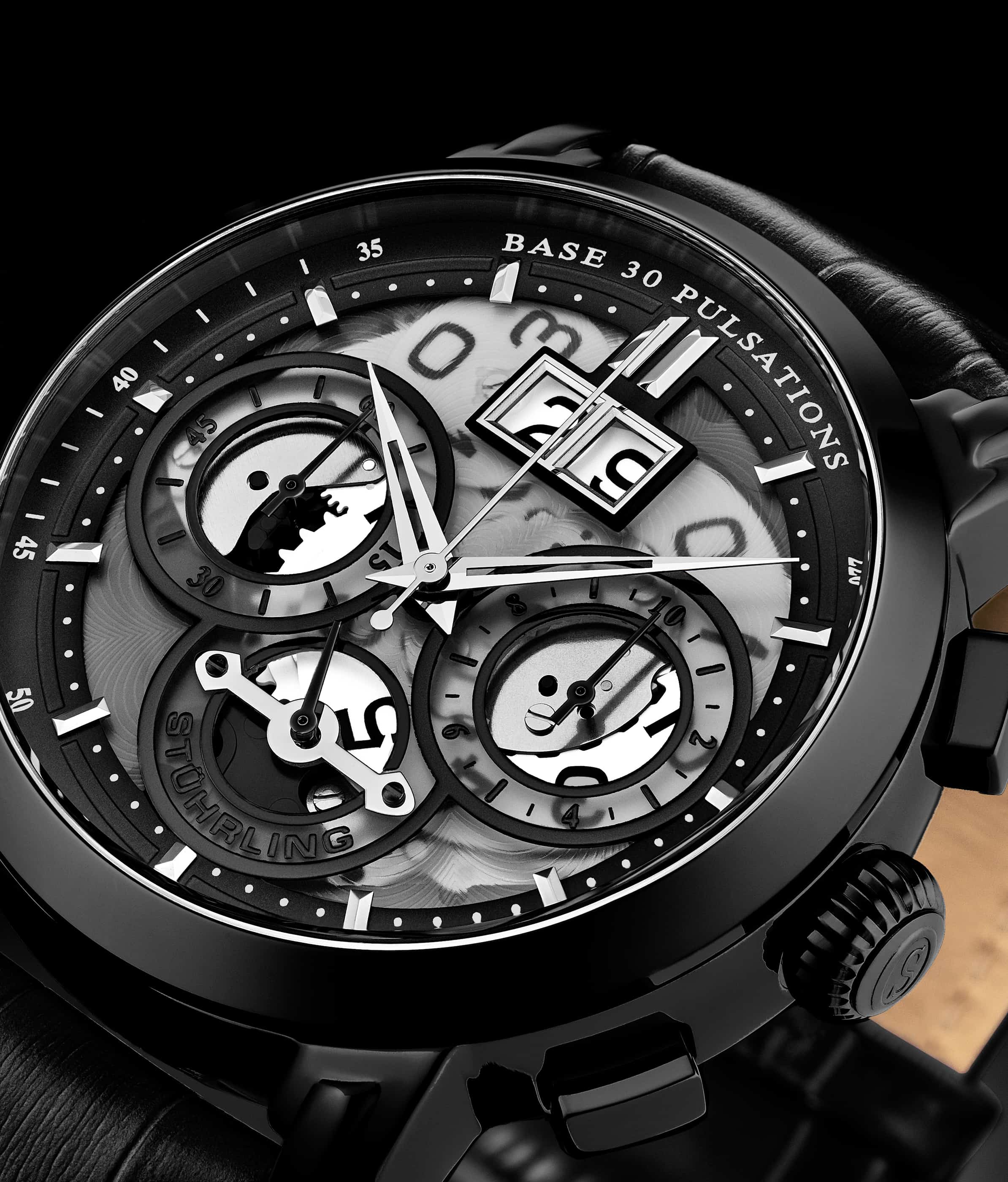 Imperia 392 Quartz 47mm Chronograph