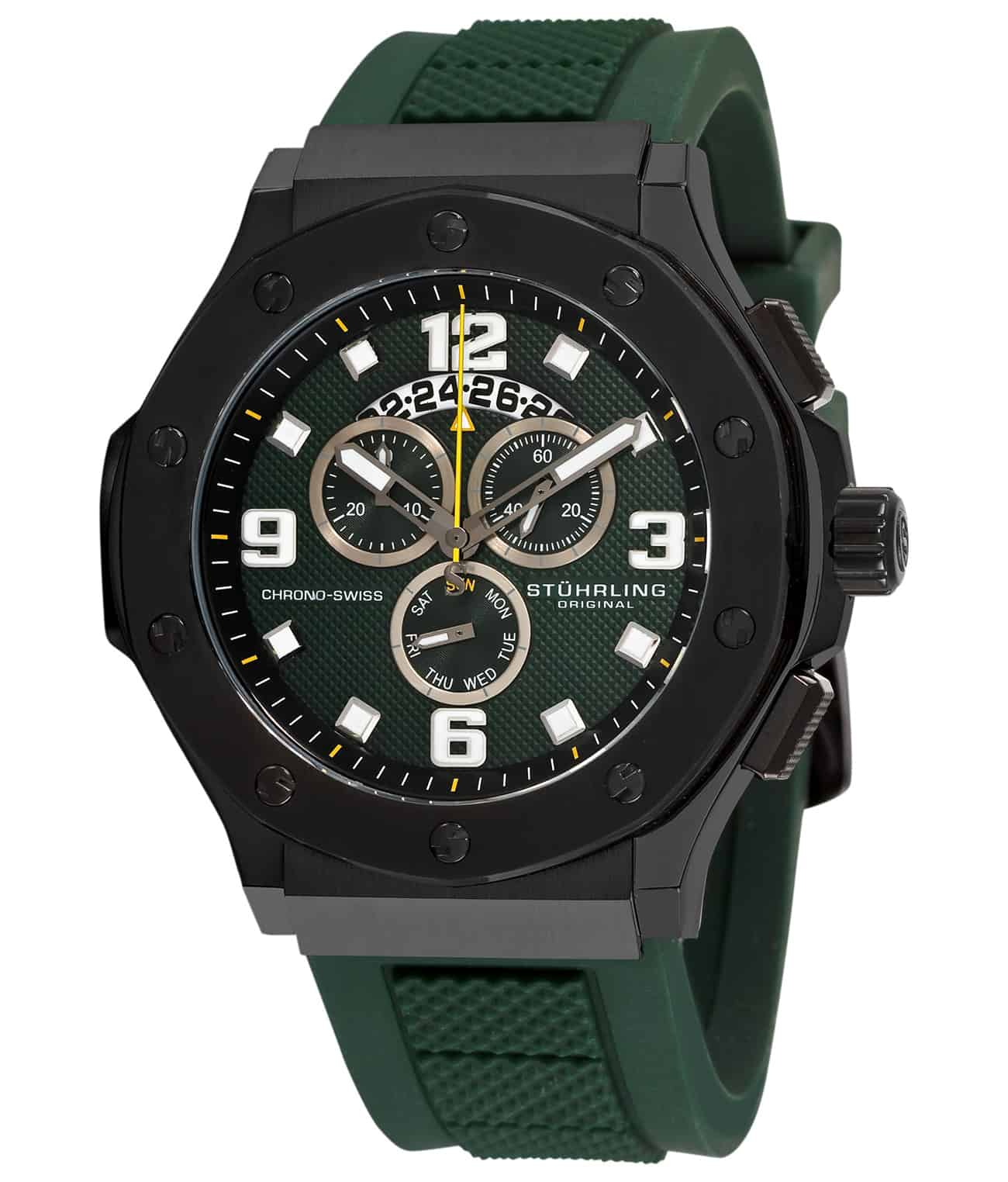 Green/Black PVD/Green