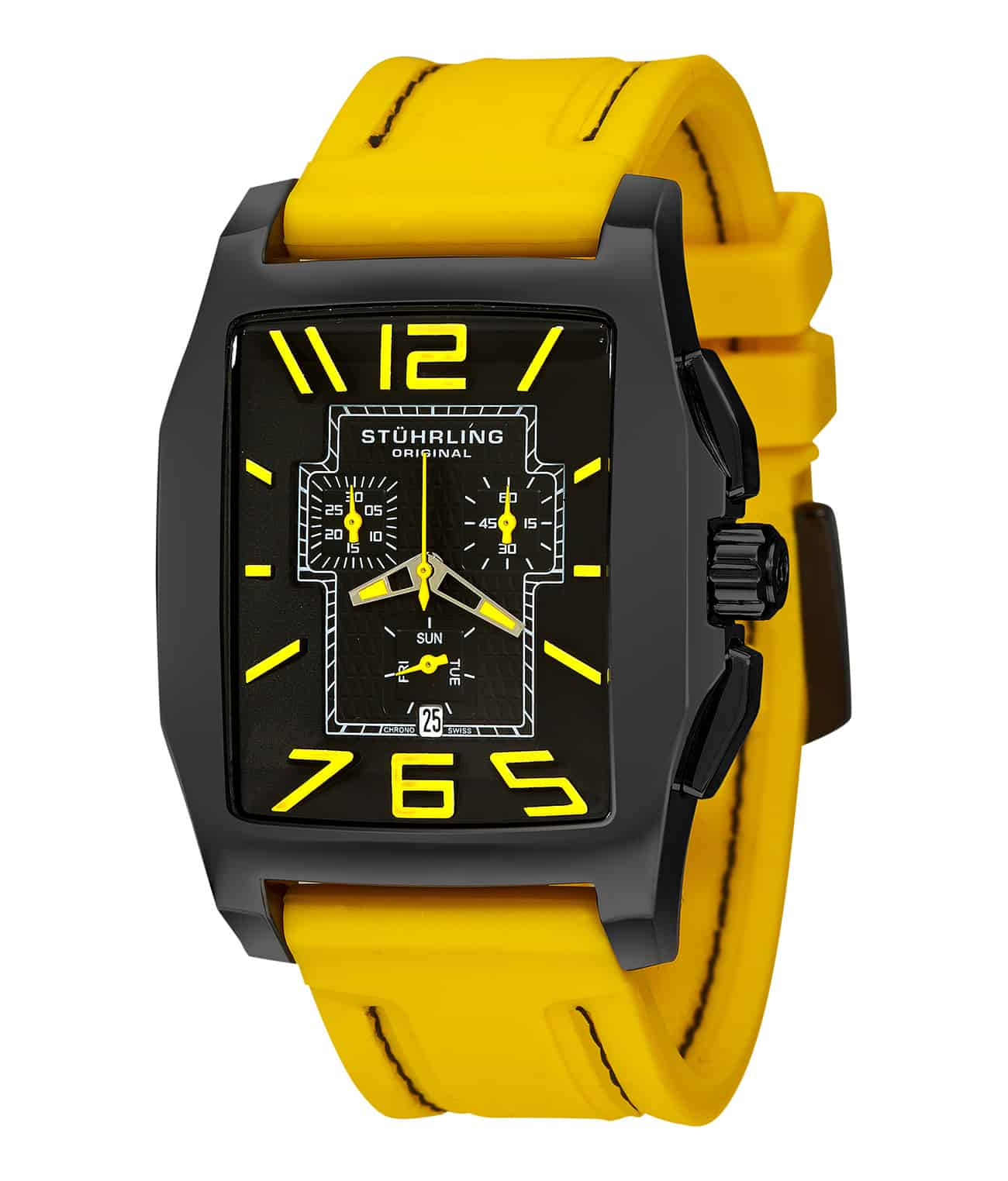 Black/Black PVD/Yellow