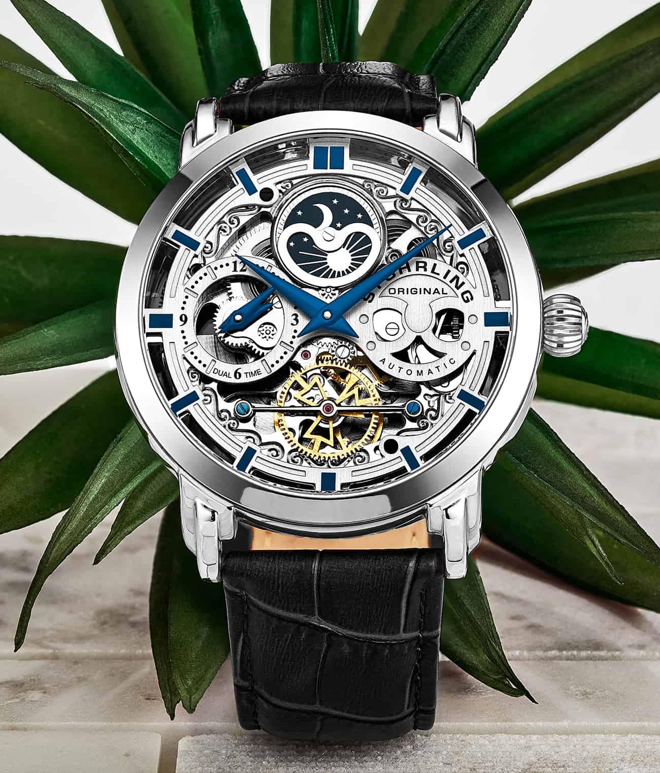 Anatol 371 Automatic 47mm Skeleton