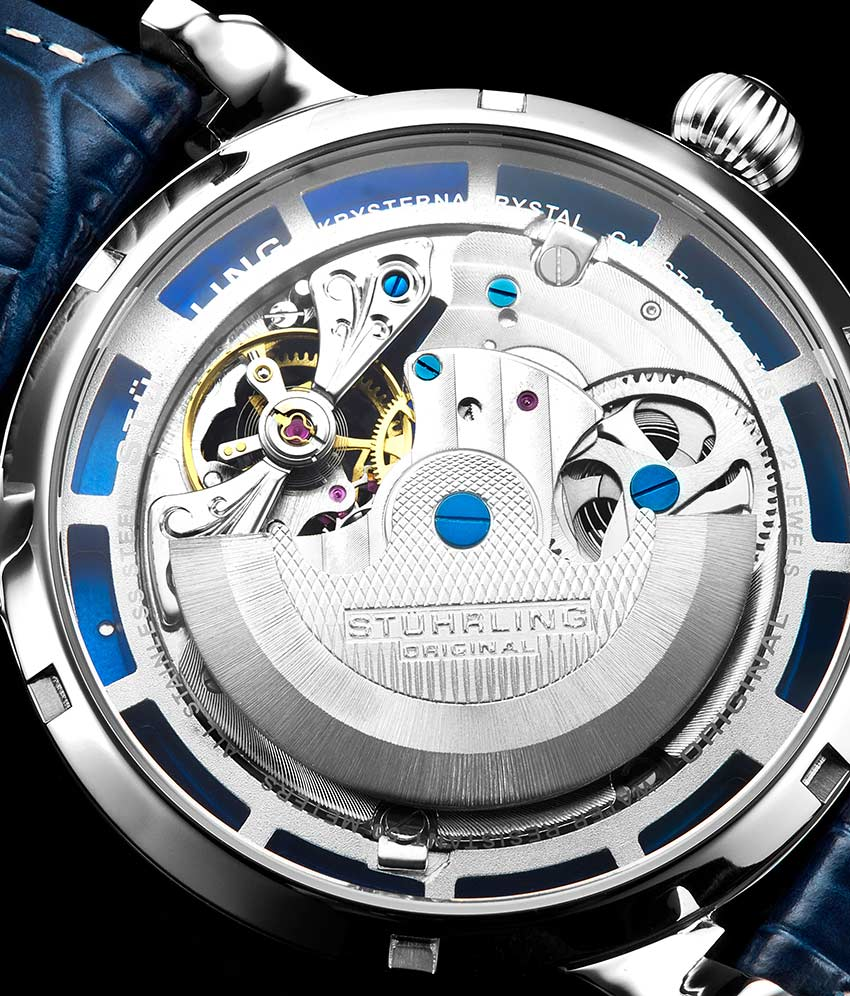 Blue Dial / Silver Case / Blue Band