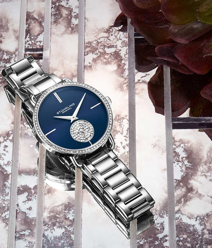 Blue Dial / Silver Case / Silver Band