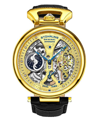 Emperor's Grand DT 3920 Automatic 46mm Skeleton is $195 (43% off)