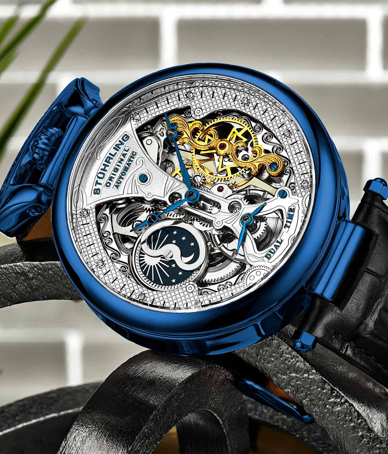 Emperor's Grand DT 3920 Automatic 46mm Skeleton