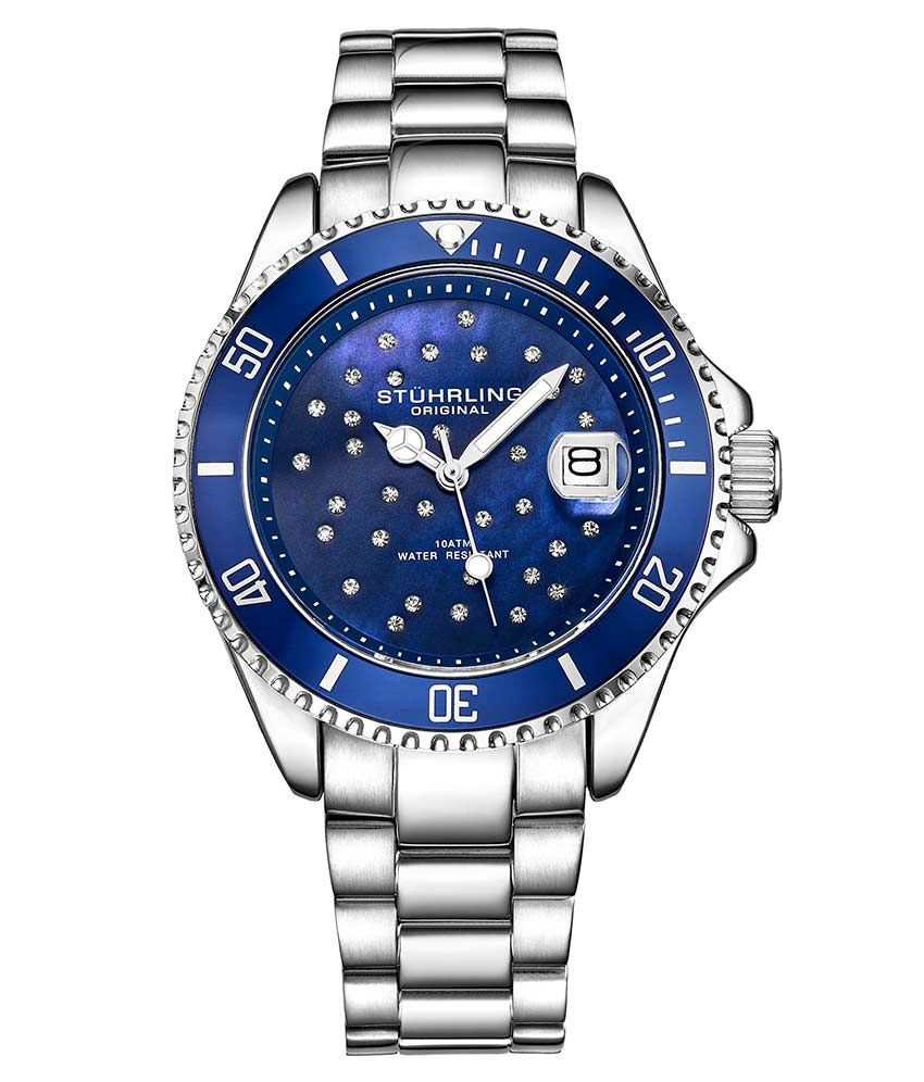 Inspired Men's Regatta and Women's StarSea Quartz set, Paired with a 10 slot Traveling Watch Case