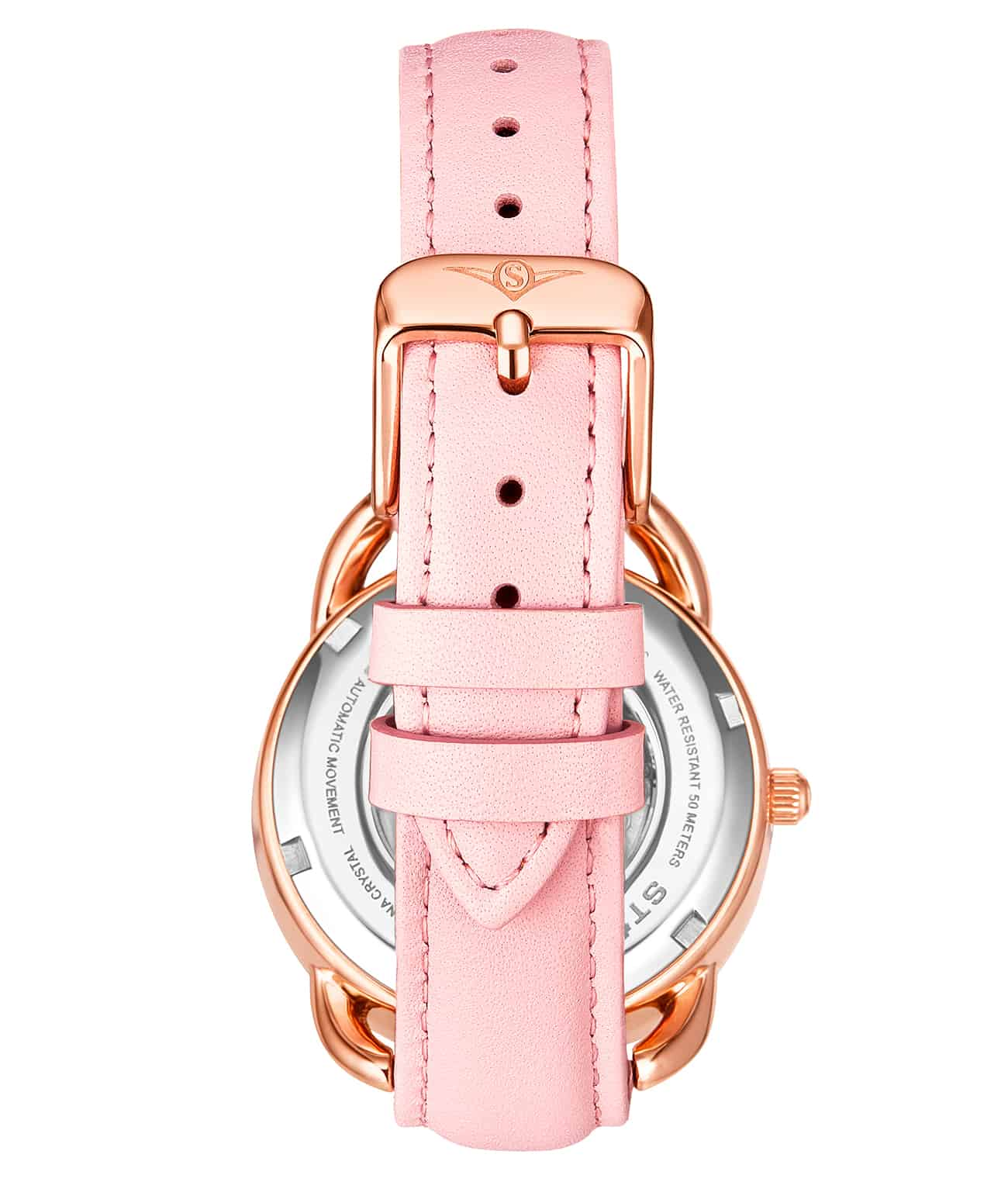 Pink Dial / Rose Case / Pink Band