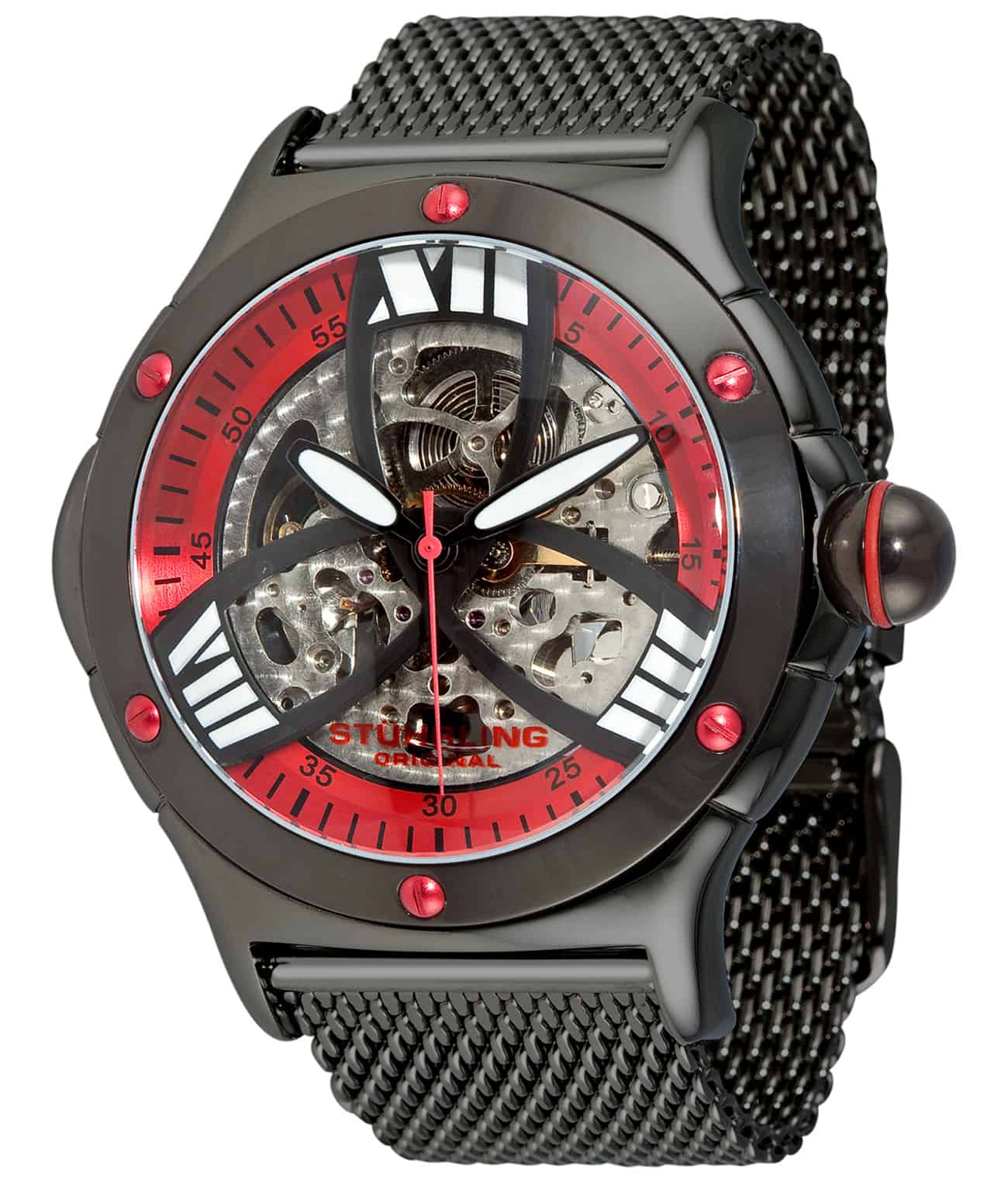 Red/Black PVD/Black PVD