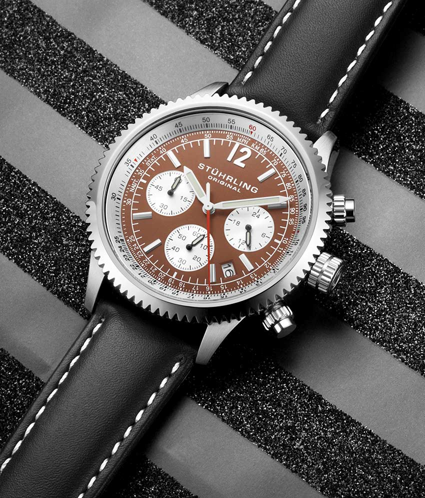 Brown Dial / Silver Case / Brown Band