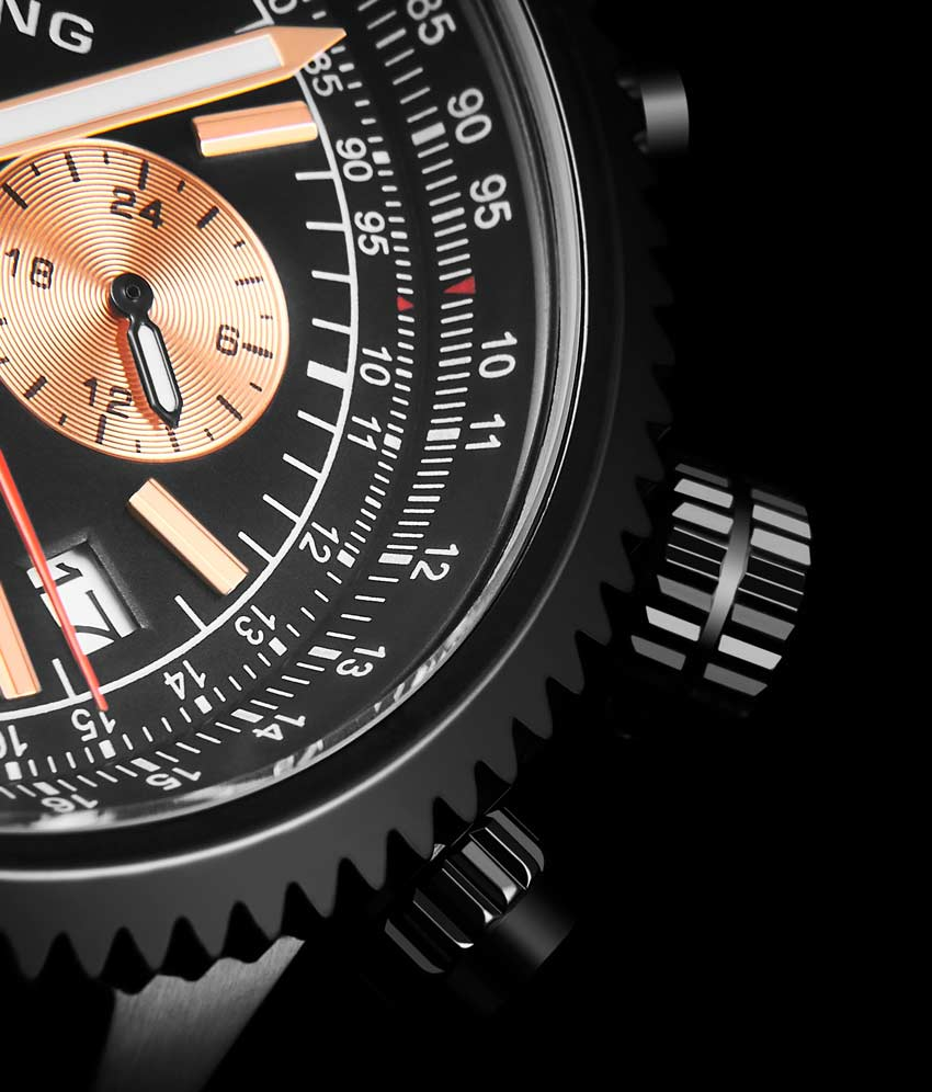 Black Dial / Black PVD Case / Black Band