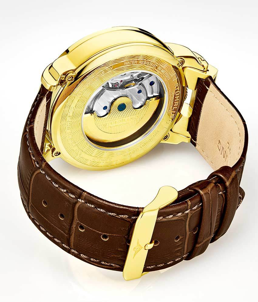 Gold Dial / Gold Case / Brown Band