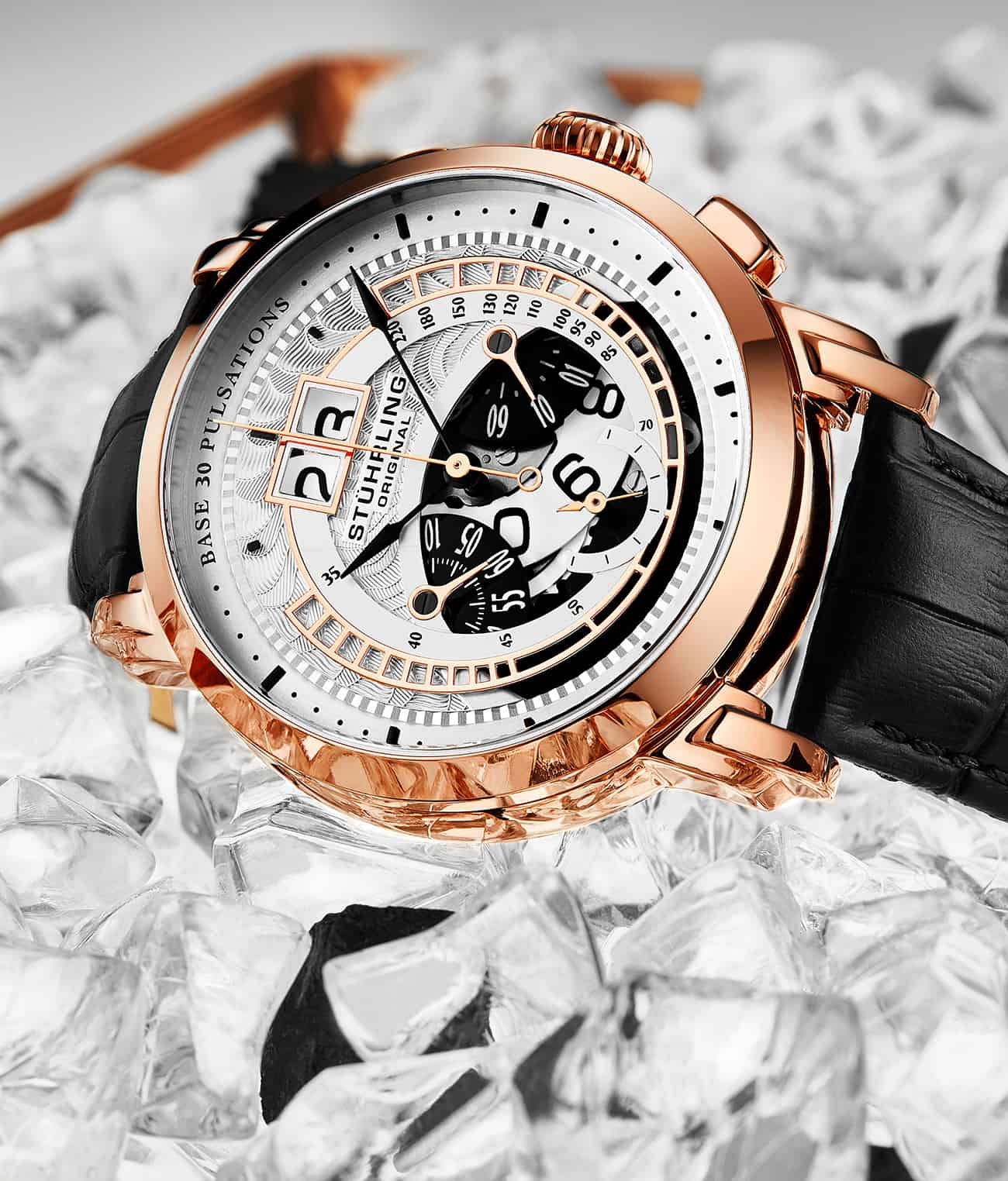 Imperia  928 Quartz 44mm Chronograph