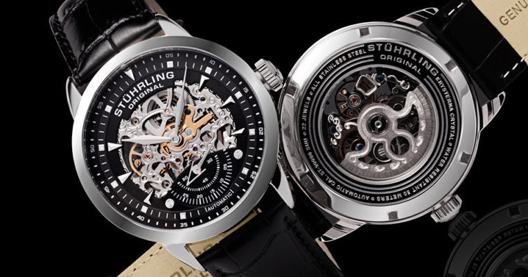 Automatic movements like the one in this Executive 133 keep your watch wound every wear.