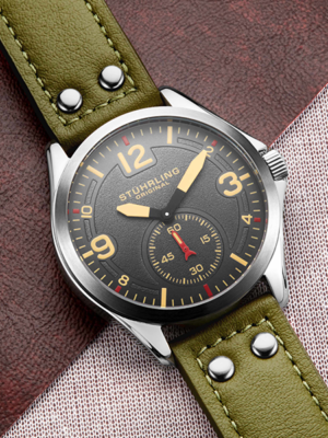 Tuskegee 684, a top rated Stührling watch.