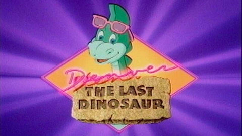 Denver the last dinosaur TV series