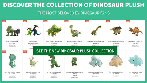 dinosaur stuffed animal collection