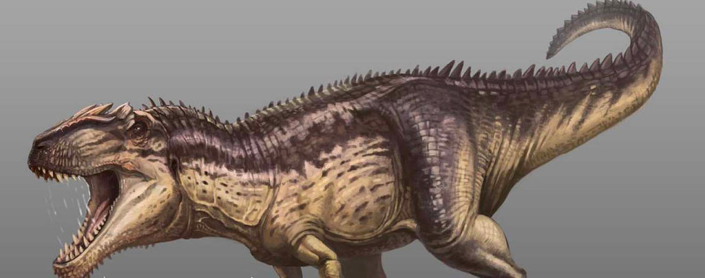Giganotosaurus scariest dinosaur of the mesozoic time