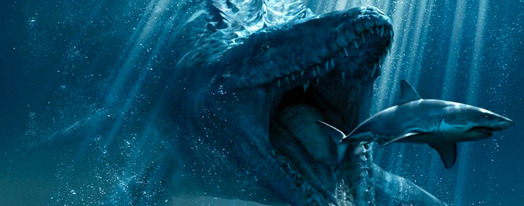mosasaurus scariest dinosaur of the mesozoic time