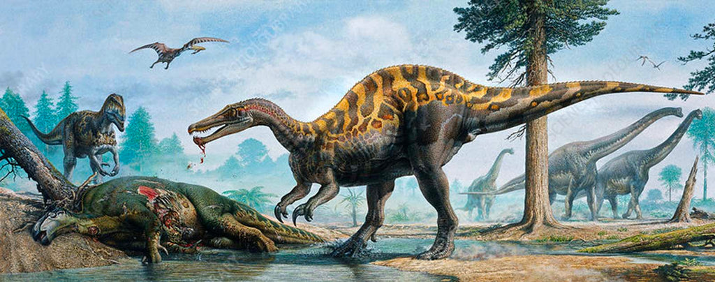baryonyx scariest dinosaur of the mesozoic time