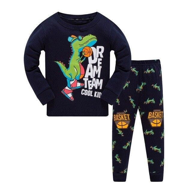 Basketball Dinosaur Pajamas