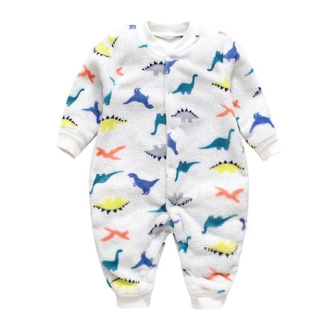 Cool Dinosaur Romper For Toddler Unisex