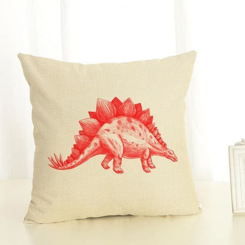 Stegosaurus Pillow Case