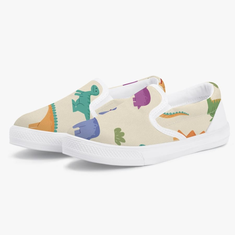Cute Dinosaur <br> Kids' Slip-On Shoes