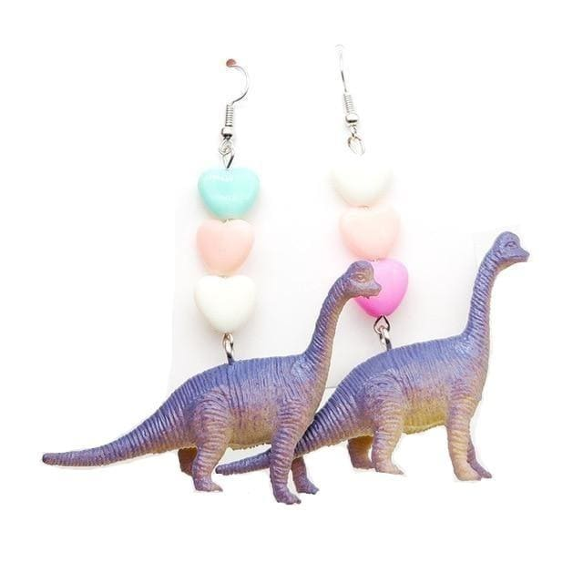 Brachiosaurus Earrings