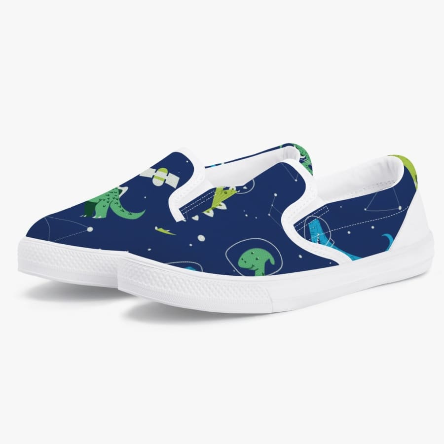 Dinosaur Constellations <br> Kids' Slip-On Shoes