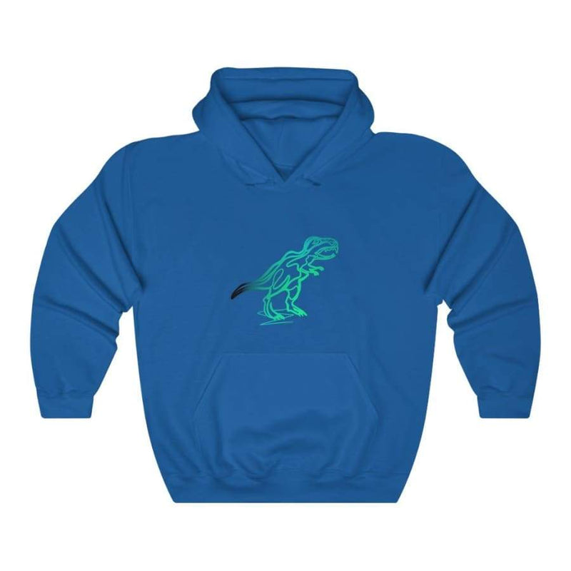 Dinosaur Hooded Sweatshirt For Women <br> Dinosaur Art