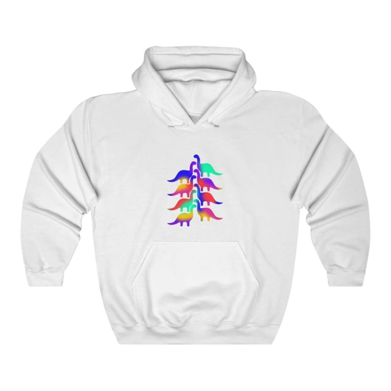 Dinosaur Hooded Sweatshirt For Women <br> Dinosaur Tree