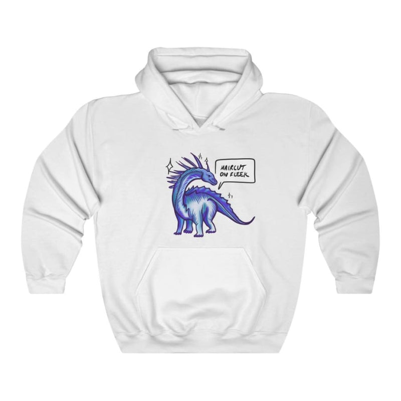 Dinosaur Hooded Sweatshirt For Women <br> Haircut On Fleek