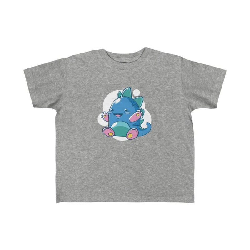 Dinosaur Kids Tee Cutesaurus - Light Blue / 4T - Kids
