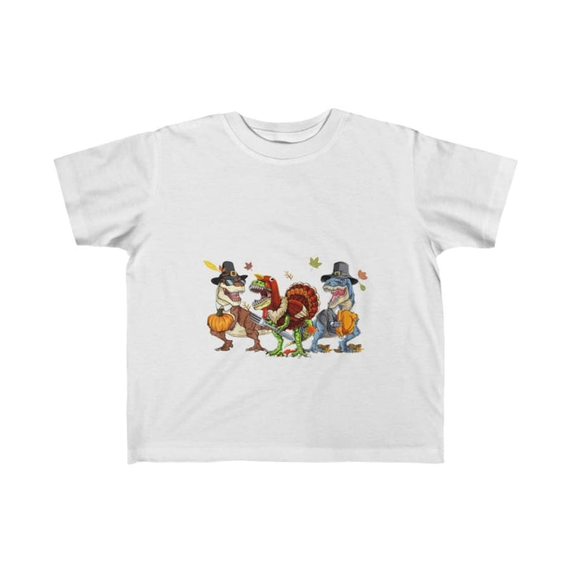 Dinosaur Kids Tee Trick Or Treat - Black / 4T - Kids clothes