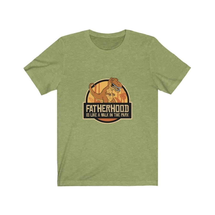 Dinosaur Men Tee <br> Fatherhood