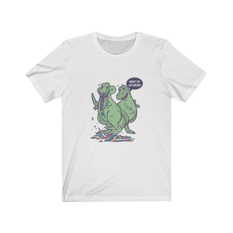 Dinosaur Tee <br> Eating Unicorn