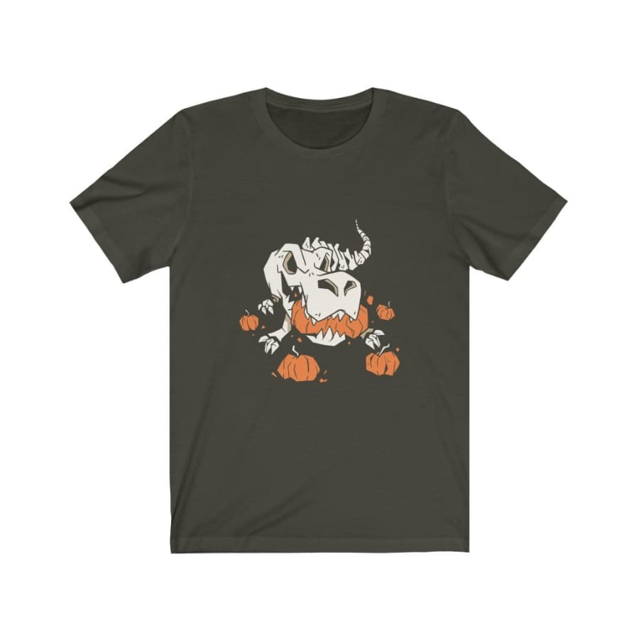 Dinosaur Tee <br> Halloween Skeleton