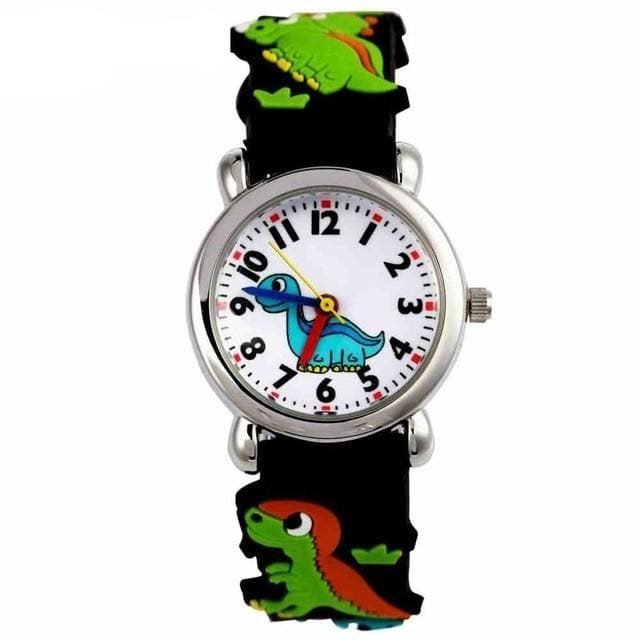 Dinosaur Watch <br> Black Watch For Kid